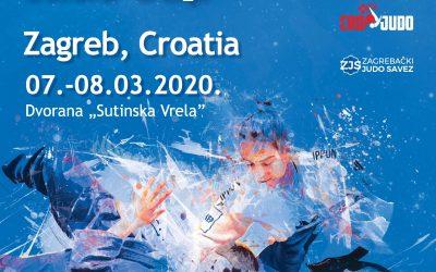 Cadet European Judo Cup Zagreb 2020